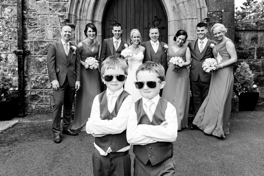 little boys with sunglasses